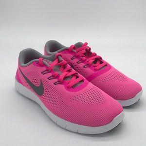 Brand new Nike pink free runs girls sizes to women